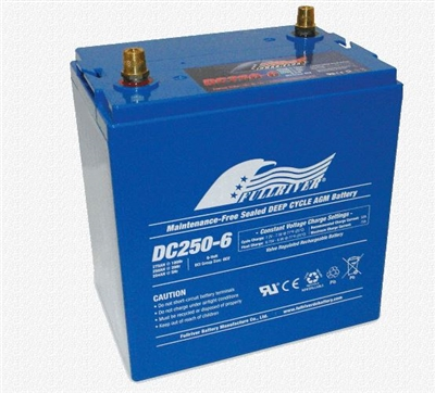 Full River Dc250 6 Deep Cycle Agm Battery